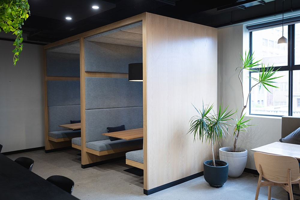 Office pods and Booths